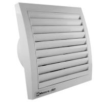 Бытовой вентилятор MMotors JSC MM 100/60, сверхтонкий, квадратный, серый (серебристый), с таймером