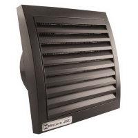 Бытовой вентилятор MMotors JSC MM 100/60, сверхтонкий, квадратный, чёрный, с таймером