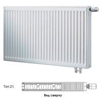 Стальной панельный радиатор отопления Buderus Logatrend VK-Profil Тип 21, высота 300 мм, ширина 1400 мм