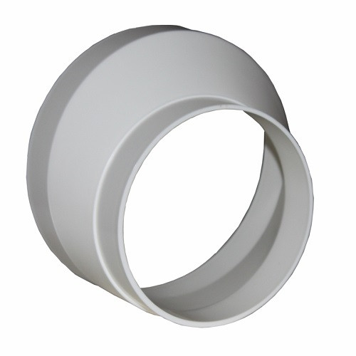 Соединитель эксцентриковый круглых воздуховодов D80/100